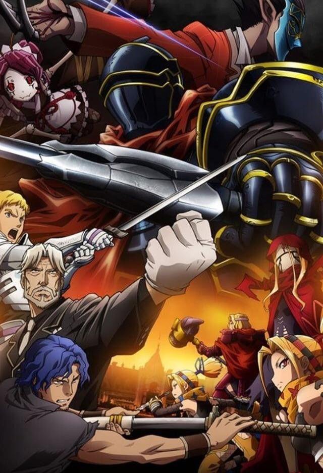 Overlord | Overlord Series | Anime, Manga anime, Manga