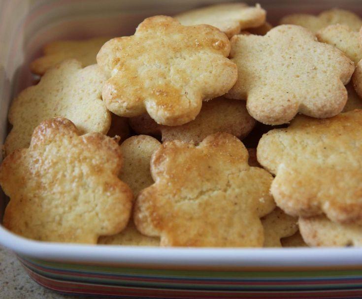 Kruche ciasteczka kukurydziane (bezglutenowe)