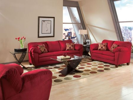 Superb Red Living Room Furniture Cheap Part 22