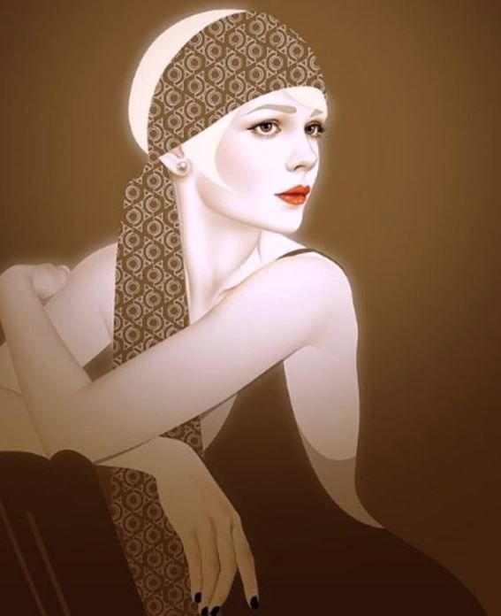 Whitehurst, Autumn - Carey Mulligan as Daisy Buchanan (Great Gatsby)