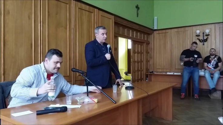 """""""Pogorzelisko"""" to nie wszystko! Wojciech Sumliński w Olsztynie 14 czerwc..."""