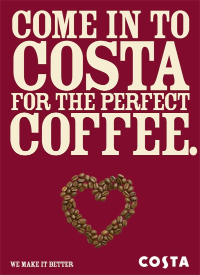Saturday 1pm @ new Costa, followed by Odeon...perfect day!