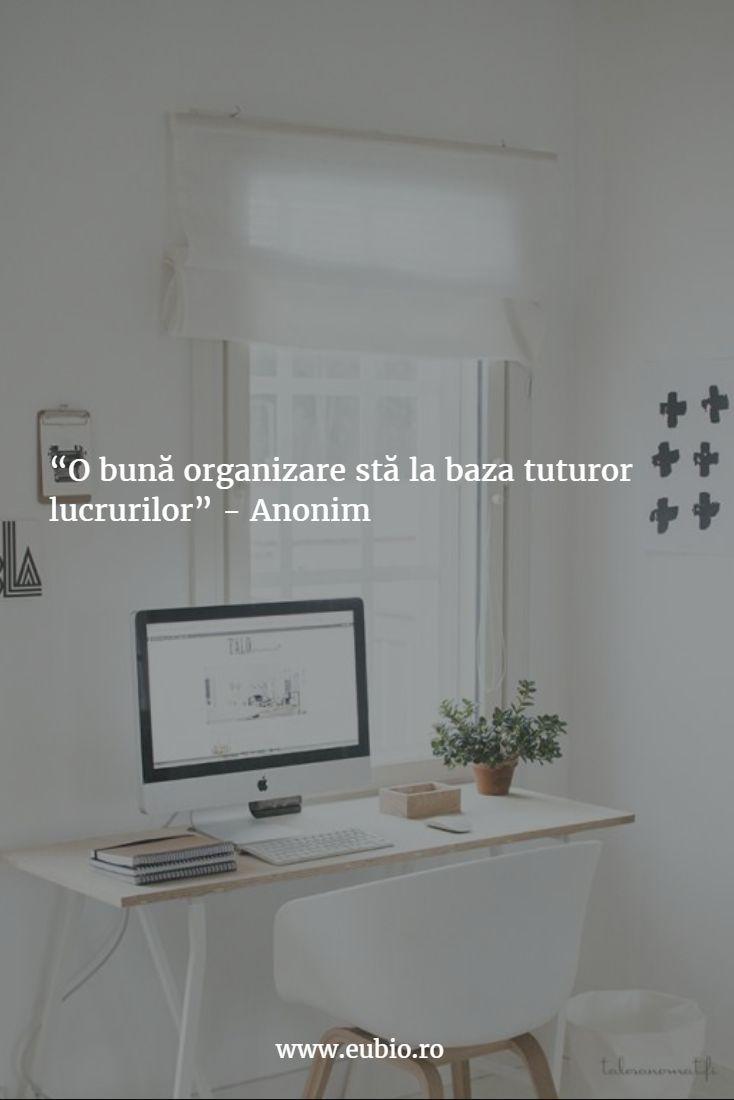 Organizarea spaţiului de lucru, primul pas pentru eficienţă. #organizare #eficienta #birou