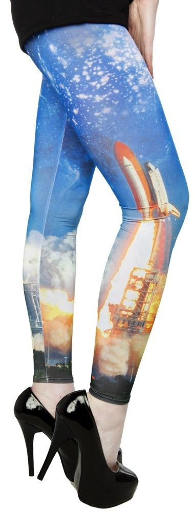 BLAST YOU INTO SPACE LEGGINGS - What's on Sale