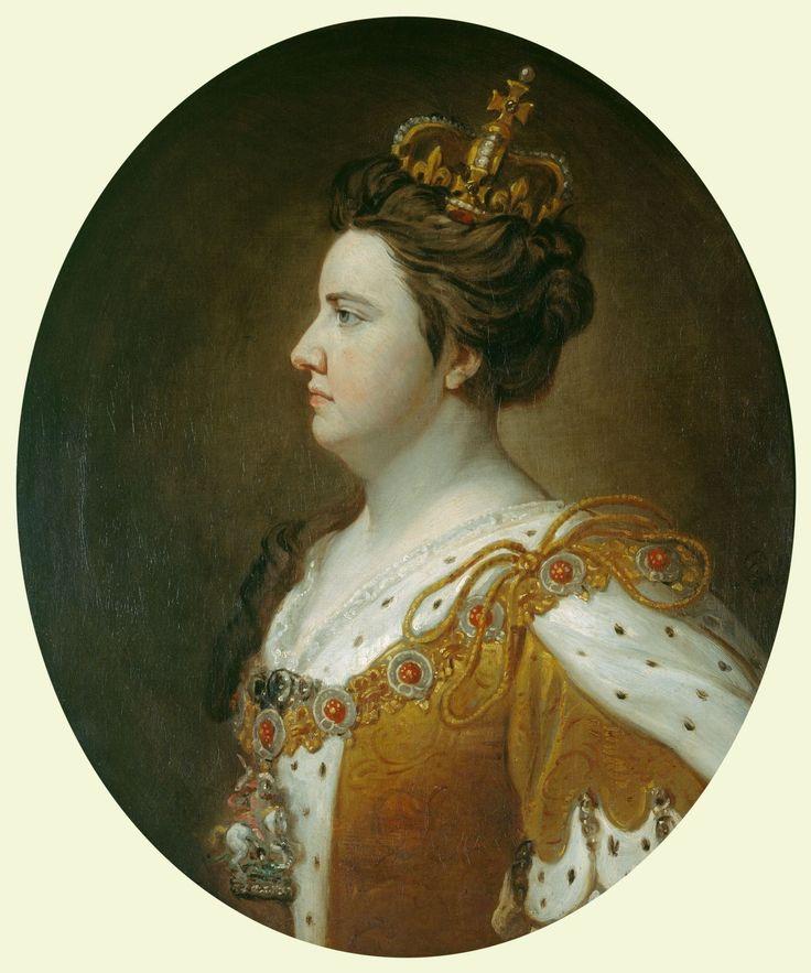 Queen Anne (1665-1714), by Sir Godfrey Kneller, 1st Baronet.