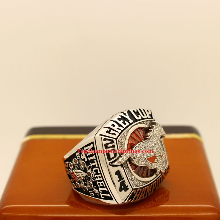 CFL 2014 Calgary Stampeders 102nd Grey Cup Championship Ring