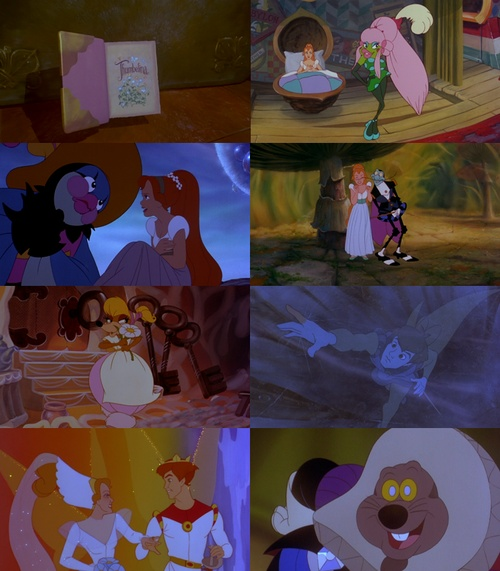 Not Disney....still love me some Thumbelina.  Voice of Ariel is voice of Thumbelina.