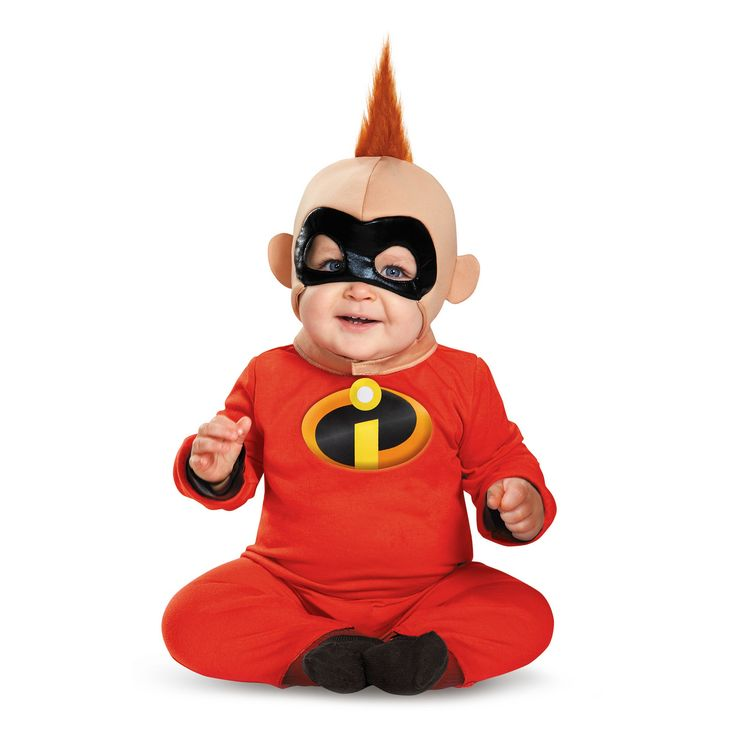 Halloween Baby The Incredibles Jack Costume - 6-12 Months, Infant Boy's, Multicolored