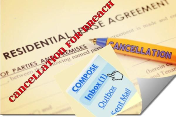 Tenant Issues - Contract Law (email constitutes valid legal variation of agreement)