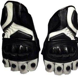 [LIMITED EDITION ] sarung tangan pendek moge keren  kulit asli Produk terbatas