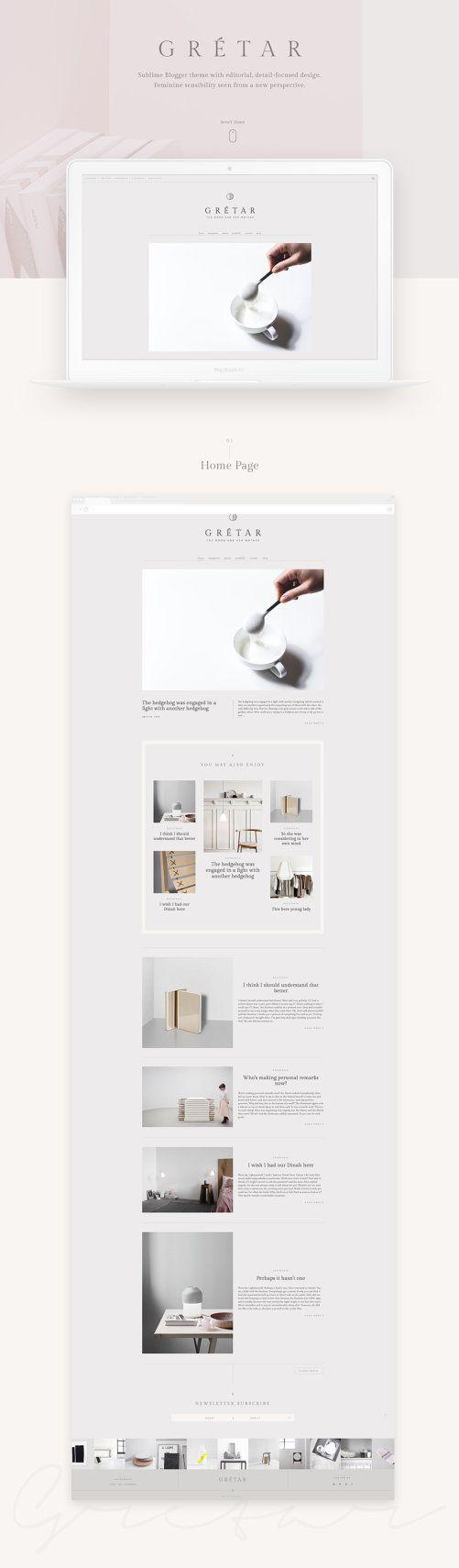 289 besten W E B • D E S I G N Bilder auf Pinterest | Blog-Designs ...