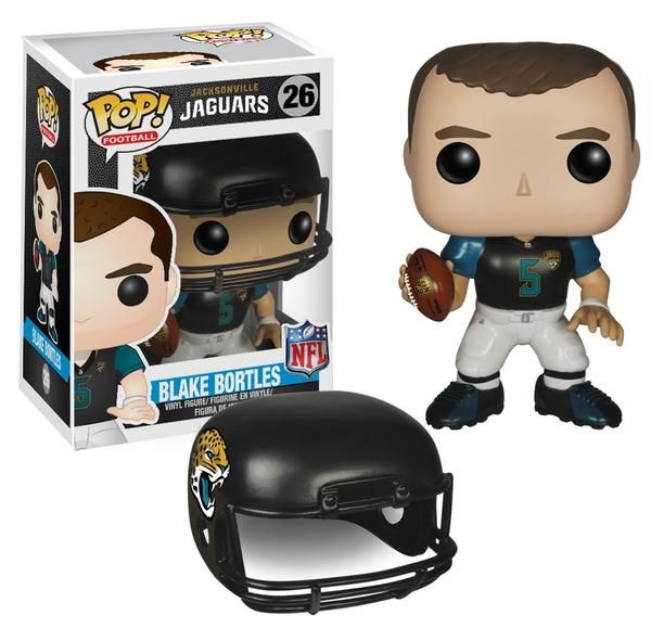 Jacksonville Jaguars quarterback Blake Bottles was drafted 3rd overall in the 2014 NFL draft and is now a Pop! Vinyl Figure! The former University of Central Fl