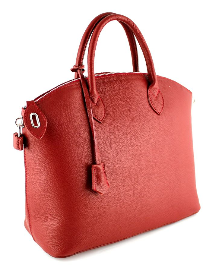 Ancona Rosso Stylish and simpel bag for everyday use.