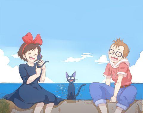 Kiki's Delivery Service / Majo no Takkyuubin (魔女の宅急便) -「魔女の宅急便」/「kawori」のイラスト [pixiv]