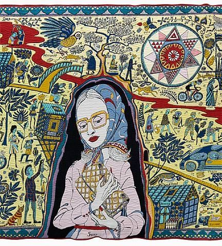 Grayson Perry, The Walthamstow Tapestry (detail)