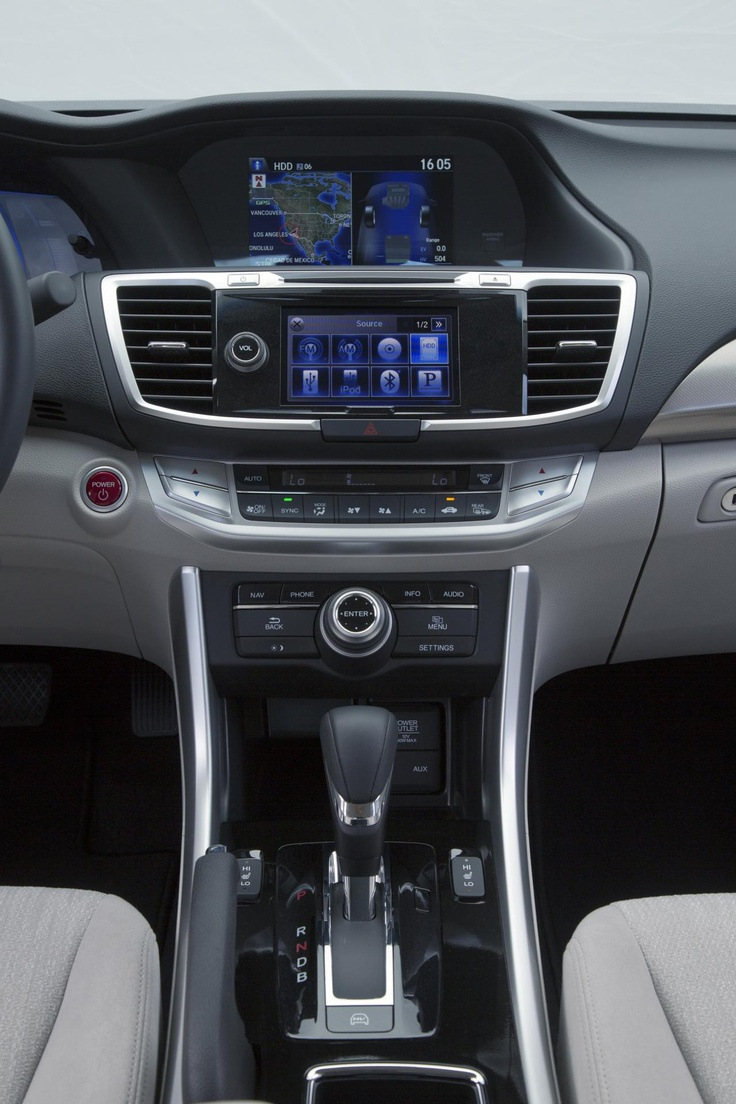 2014 Honda Accord PHEV Interior http://reddellhonda.com/searchnew.aspx?model=Accord%20Sdn
