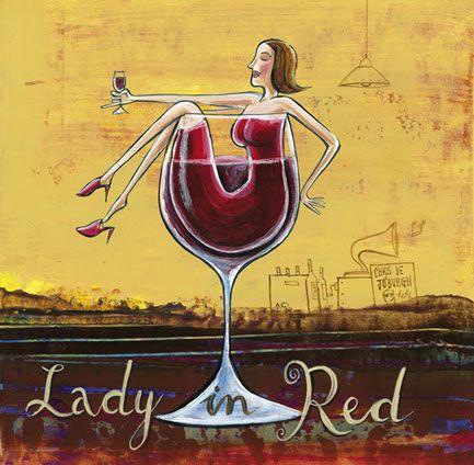 Lady in Red - Frans Groenewald