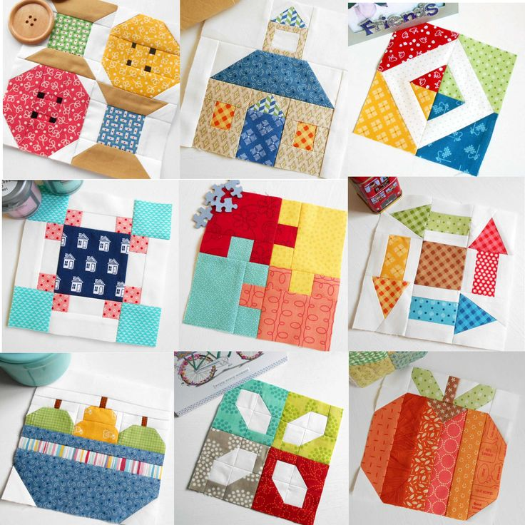 Have you got a favourite block from The Patchsmith's Sampler Quilt Blocks book?