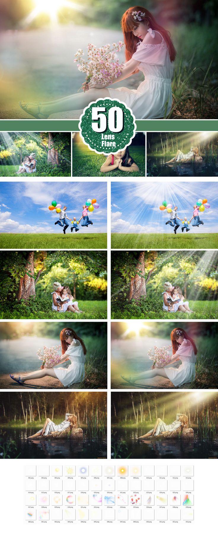 natural sun lens Photo Overlays, Lens Flare, Sun beams streaks, Photography Overlays, Photography Textures, Digital Download,