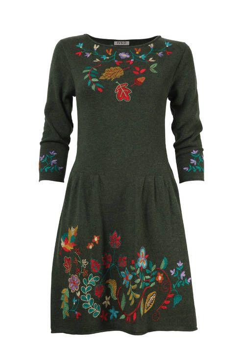 Dress Forest Motifs - Kleid | Ivko Woman