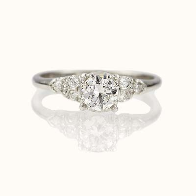 Antique Engagement Rings   Leigh Jay Nacht, New York