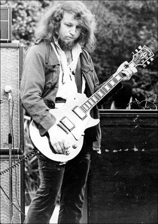 Martin Barre of Jethro Tull
