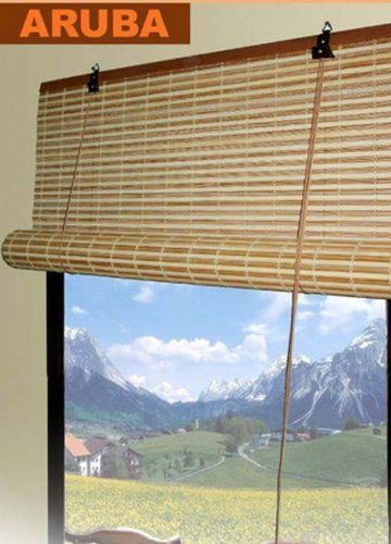 Bamboo Roll Up Shade Window Blind 36 X 72 67 216 By