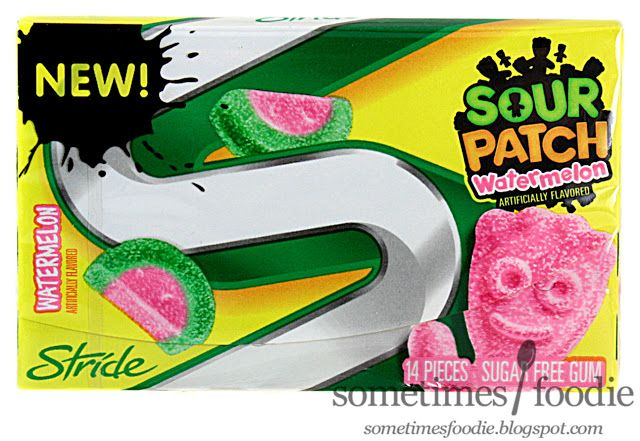 Sometimes Foodie: Stride Sour Patch Watermelon Gum- Walmart: Berlin, NJ
