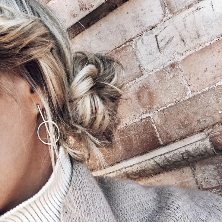 Make a subtle statement in our Full Circle Earrings like Mary Seng @ happilygrey