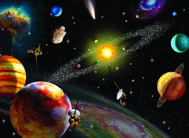 Thema: Zon Maan en Sterren - Praatplaat planeten