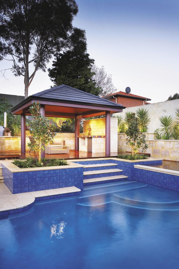 Backyard swimming pool ideas home home office ideas - Expert tips small swimming pools designs ...