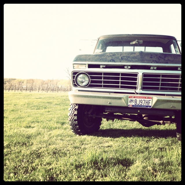 There Somethin bout a truck...