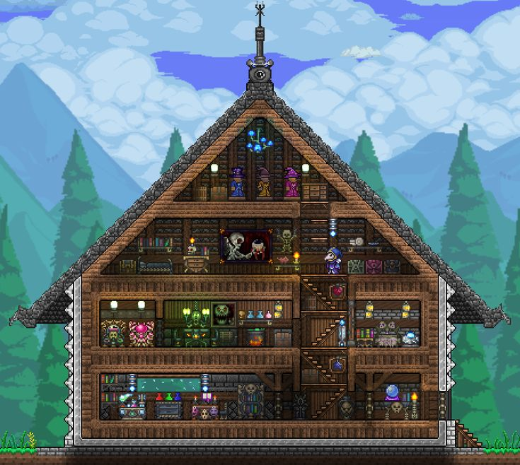 Pc Ballin Houses By Eiv: 17 Best Images About Terraria Builds On Pinterest