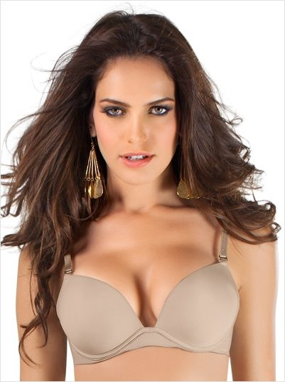Pinch yourself; you are awake; the push up bra of your dreams is now available at Leonisa! Incredible design - no air pads; no removable gel or foam padding.