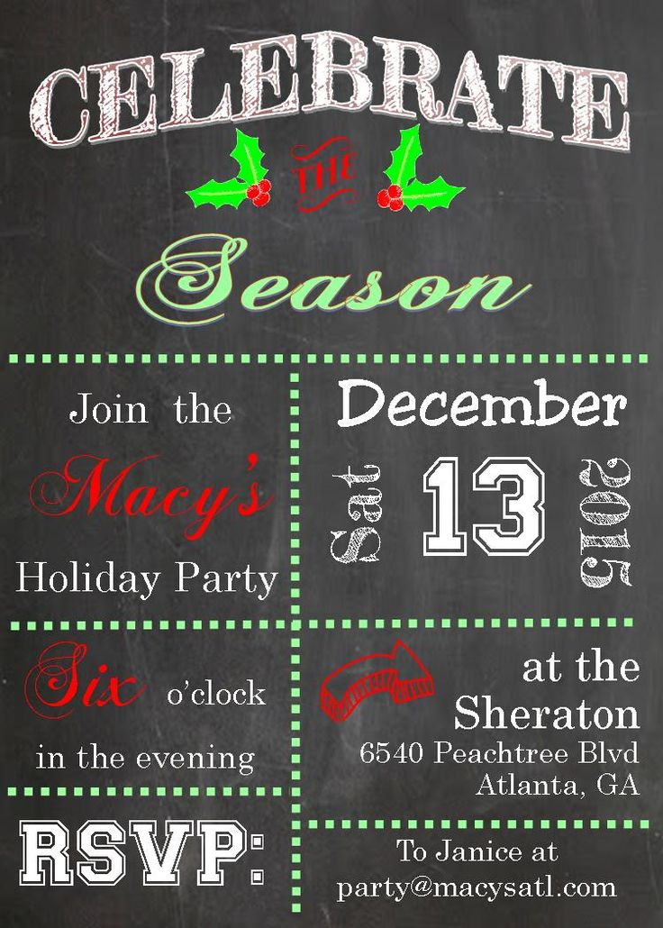 34 best Ornament Exchange Party Invitations images on Pinterest ...