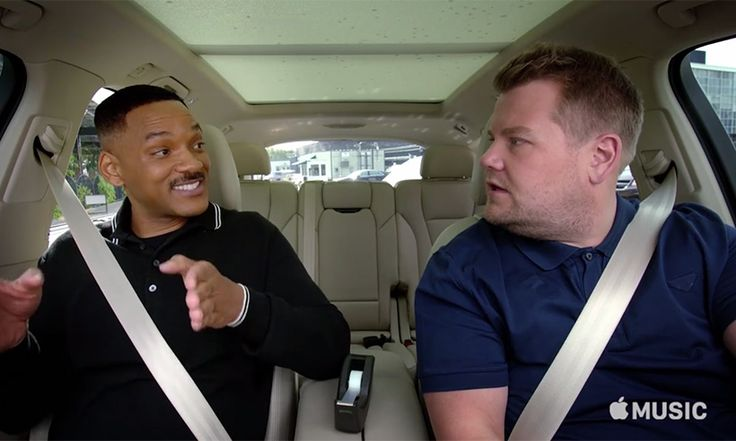 Will Smith joined James Corden on Carpool Karaoke, where the pair sang some of Will's best hits and discussed his rap career before he became an actor | Hello Magazine