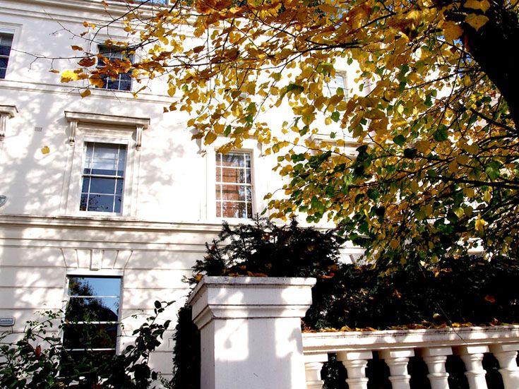 { Casa de estuco blanco de Maida Vale } #MaidaVale #Londres #Casa