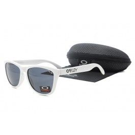 Frogskins óculos de sol Oakley Branco Escuro quadro Lente Azul www.oculosoakleyb...