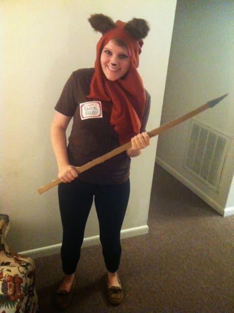 DIY Costume: Ewok!