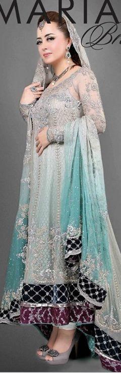 Best Maria B Pakistani bridal dresses 2017-18  #Pakistanibridaldresses