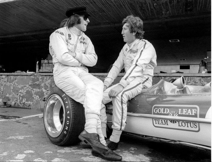 Break time… Jackie Stewart & Jochen Rindt - Grand Prix du Mexique 1969 - Carros e Pilotos.