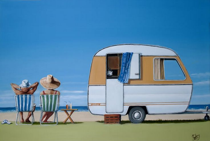 Caravan Bliss by Graham Young. imagevault.co.nz