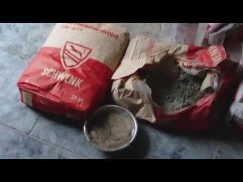 Beton giessen - Wie mische ich meinen Beton - Beton Sorten Varianten - YouTube