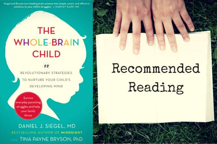 RECOMMENDED READING: THE WHOLE-BRAIN CHILD - As parents we're invested in the development of our children. We agonize over every milestone. We cheer like maniacs at our kids' first steps and first words. We obsess about math skills and reading ability. Unfortunately, too often our investment stops there. We may work hard on our kids' physical and cognitive abilities. But we leave their emotional development to nature, or osmosis, or whatever. That needs to stop.