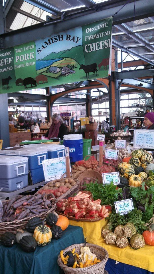 Saturday is Market Day at Bellingham Farmers Market in Washington 10am - 3pm in Depot Market Square at  Railroad and Chestnut Streets http://www.farmersmarketonline.com/fm/BellinghamFarmersMarket.html