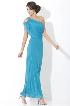 One-shoulder Gown | Metrostyle...good brides maids dress only at 90 dollars!