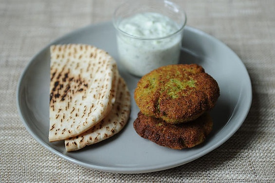 World's Easiest Falafel and Tzatziki | healthy eating | Pinterest