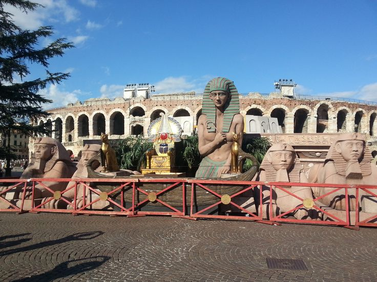 Italie, Verona, theater