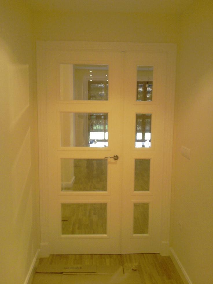 Las 25 mejores ideas sobre puertas blancas en pinterest y for Puertas blancas dobles