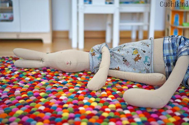 ber ideen zu teppich machen auf pinterest flickenteppich flickenteppiche h keln und. Black Bedroom Furniture Sets. Home Design Ideas